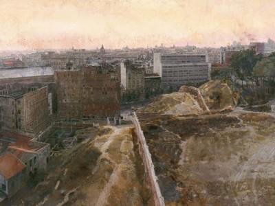 Antonio López. Madrid hacia el Observatorio, 1965-1970. Colección privada.